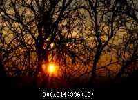 Východ slnka 06.11.2010